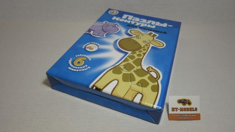 Контурные пазлы «Африканские животные», 01295