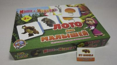 Лото для малышей «Маша и Медведь»