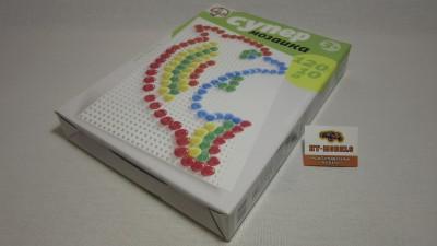 Пластмассовая мозаика для детей «Супер» 120 элементов