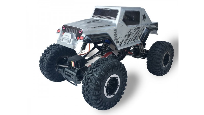 Радиоуправляемый краулер Remo Hobby Jeep Brushed Waterproof 4WD 1:10, RH1071-SJ