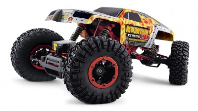 Радиоуправляемый краулер Remo Hobby Mountain Xtreme Lion Brushed Waterproof 4WD+4WS 1:10