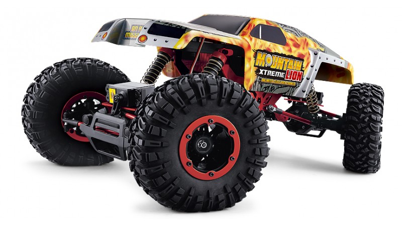 Радиоуправляемый краулер Remo Hobby Mountain Xtreme Lion Brushed Waterproof 4WD 1:10, RH1071