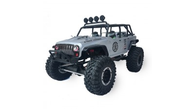 Радиоуправляемый краулер Remo Hobby Open Topped Jeep Brushed Waterproof 4WD 1:10